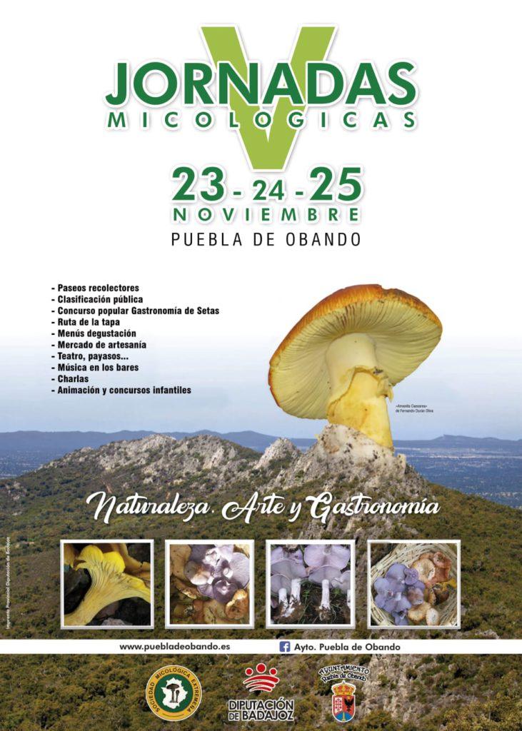 Jornadas Micológicas Puebla De Obando - 23, 24 y 25 Noviembre
