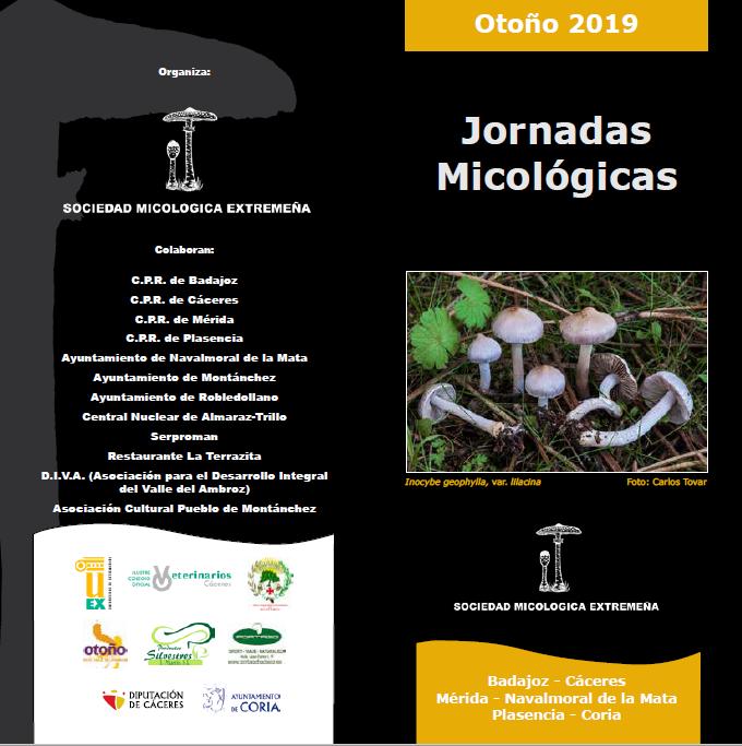 Jornadas Micológicas – Otoño 2019
