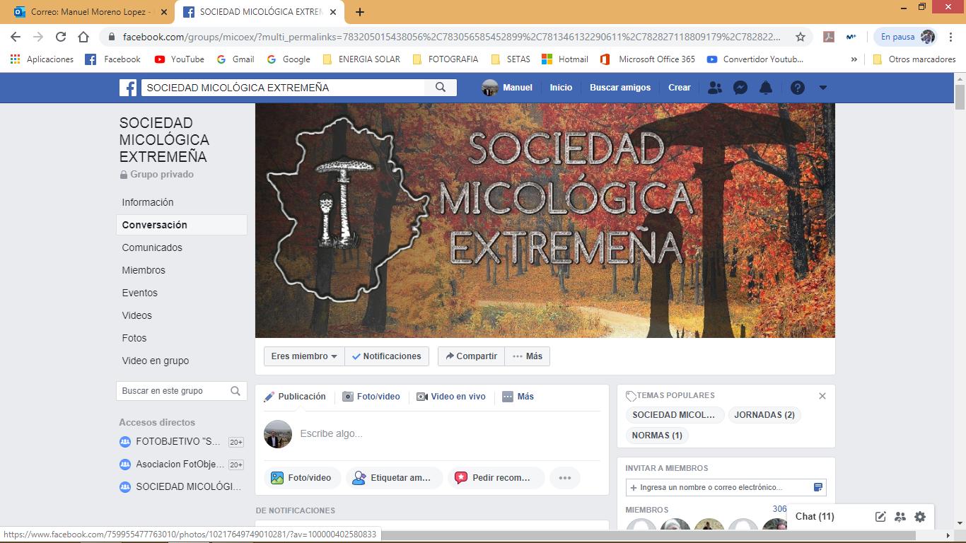 Nuevo grupo cerrado de facebook