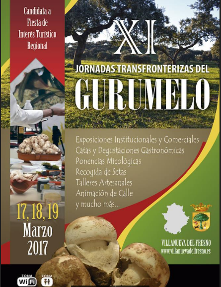 XI Jornadas transforterizas del Gurumelo.