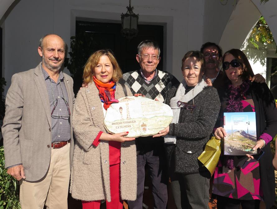 Homenaje a D. Matías Rodríguez Pazos, primer Presidente de la SME