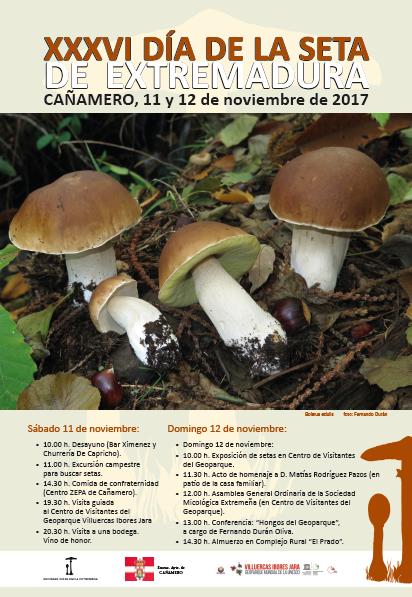 XXXVI Día de la seta de Extremadura (2017 Cañamero)